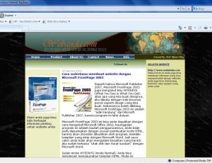 68+ Contoh Desain Halaman Web Terbaik