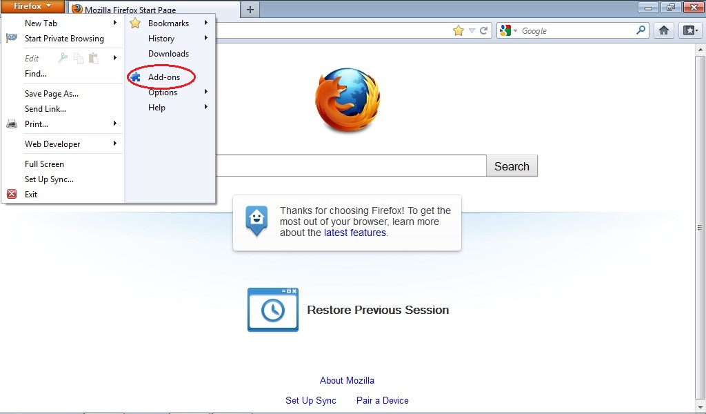 Cara Memblokir Website pada Browser Mozilla Firefox. | Moh ...